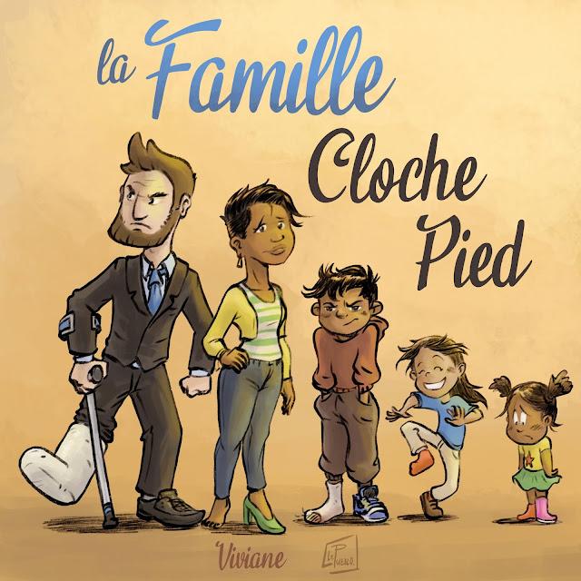 famille illustration LePueblo pied