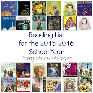 Read Aloud List for Early Elementary Students