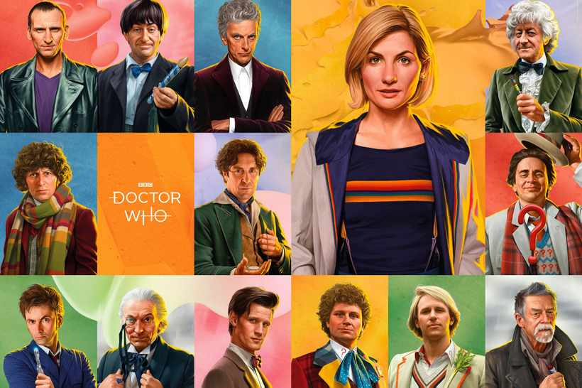 New Doctor Who Classic Edition Calendar Available For Pre
