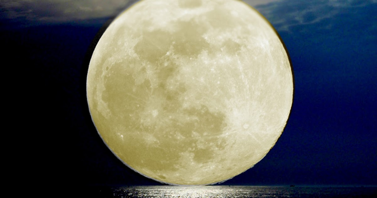 Love Yourself Fearlessly!: Bright Full Moon Tonight For ...