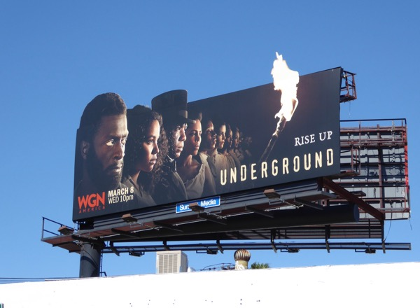 Underground season 2 special extension billboard