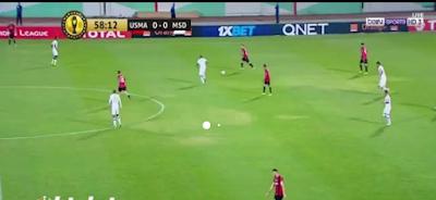 اهداف مباراة اتحاد الجزائر وماميلودي صن داونز