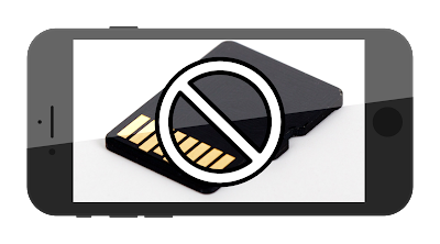 iPhone Tnapa MicroSD