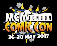 Logo MCM Comic Con Londres 2017