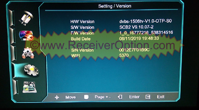 1506TV SCB2 MENU TYPE NEW SOFTWARE WITH HZCAM & SUPER IPTV