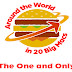 Around the World in 20 Big Macs #infographic