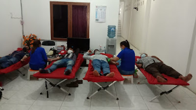 Peduli Rasa Kemanusiaan, Karyawan PT AN Donor Darah