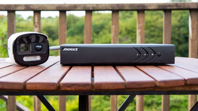 Enter To Win a Annke BR200 Alarm Security Camera and DVR Bundle ( Worth Over : $100)