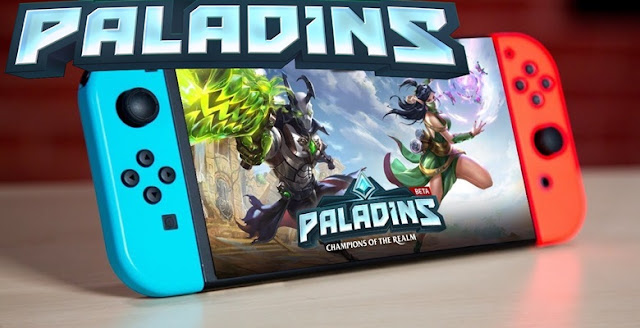 Paladins será Free2play para Nintendo Switch..
