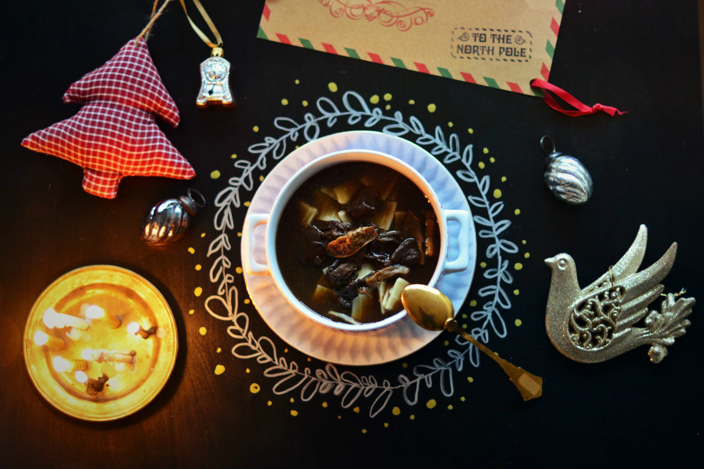 zupa grzybowa - mój smak Wigilii