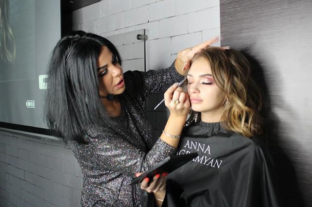 Мастер-класс по Wedding MakeUp от Анны Баграмян прошел в конгресс-отеле «Маринс Парк Отель Нижний Новгород»