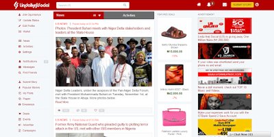 Lindaikeji Launches Her Social Website LIS And How To Make Money From The Website