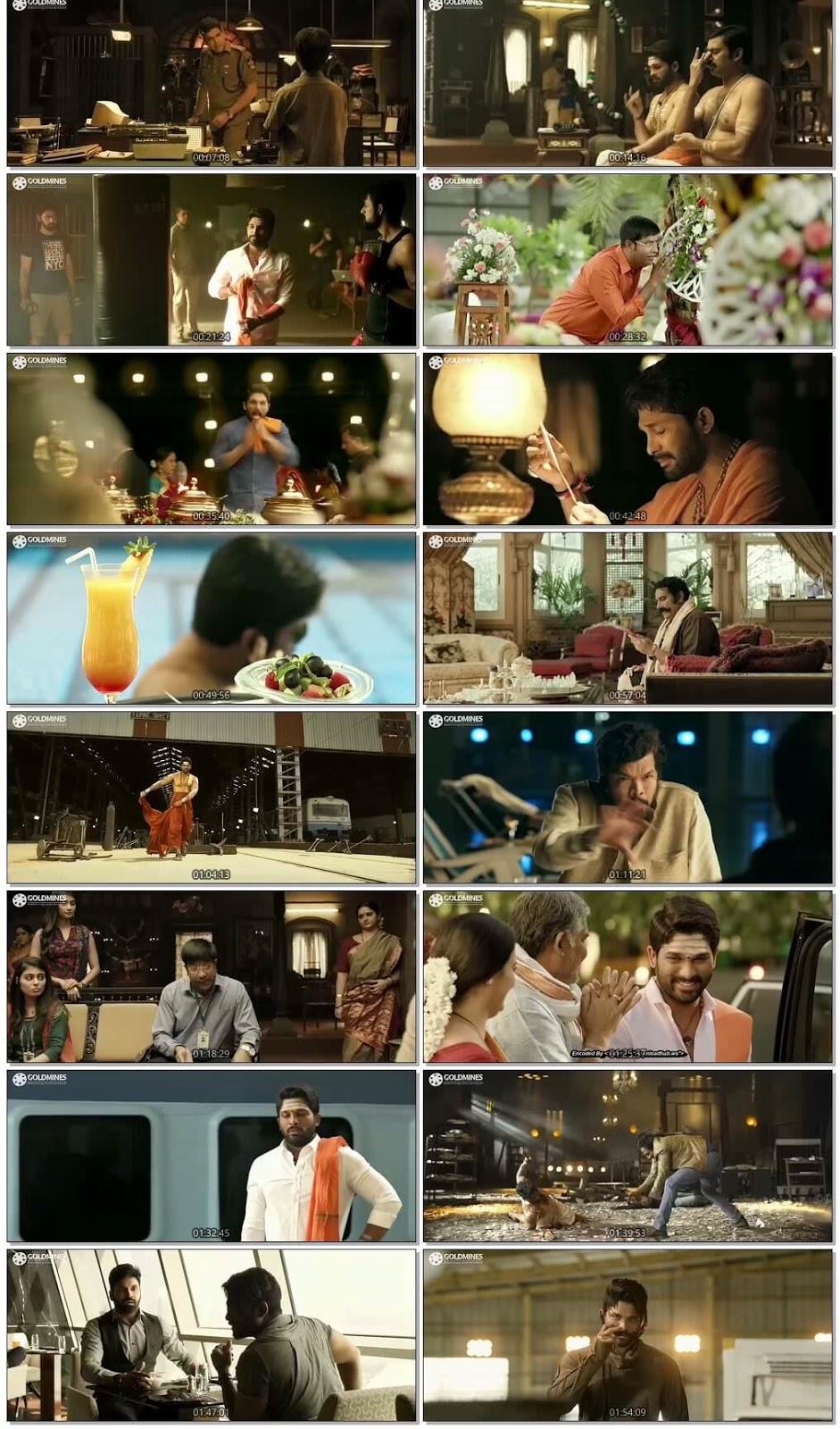 DJ Duvvada Jagannadham 2017 Hindi Dubbed 720p HEVC HDRip