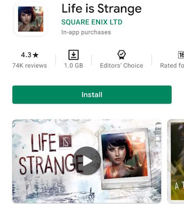 Life is strange - 2Gb games for android offline