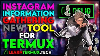 osi.ig Termux -  Instagram Information Gathering Tool for Termux