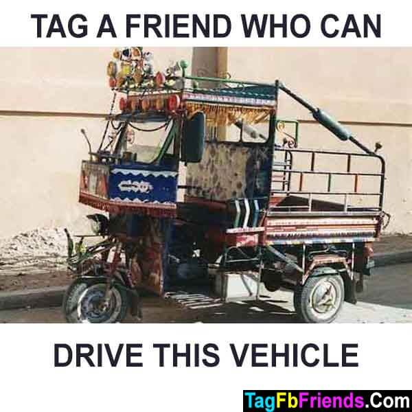 Tag a friend who can drive this vehicle