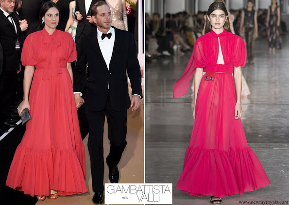 Tatiana Casiraghi Giambattista Valli Spring Summer 2019 Collection Paris