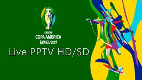 PPTV HD/SD Siarkan Copa Amerika 2019