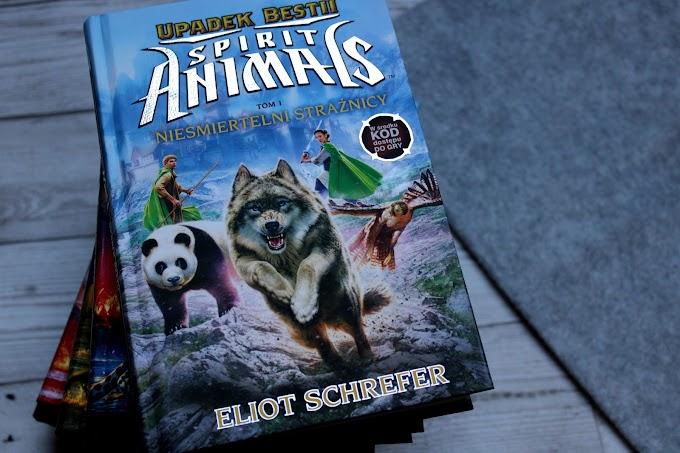 #170 Spirit Animals. Upadek Bestii. Nieśmiertelni strażnicy. Tom 1.