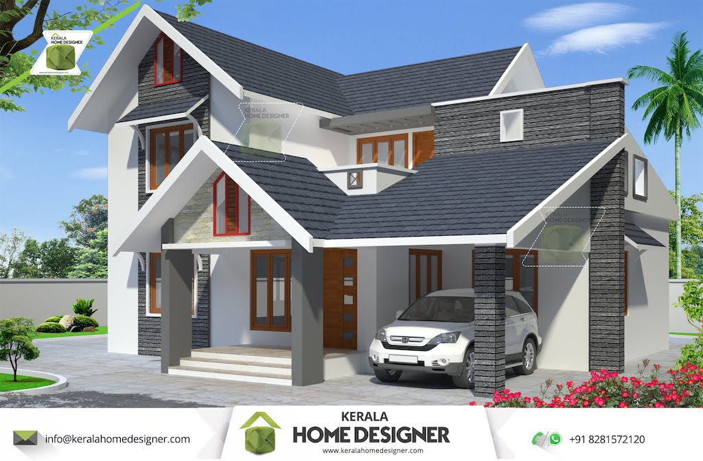 4 Bedroom House Plans Indian Style   Indian Home Design House plans     4 Bedroom House Plans Indian Style