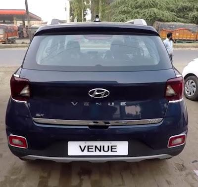 Hyundai Venue Rear