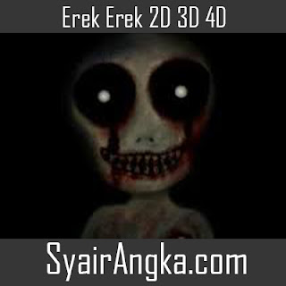 Erek Erek Moto Sak Tampah 2D 3D 4D