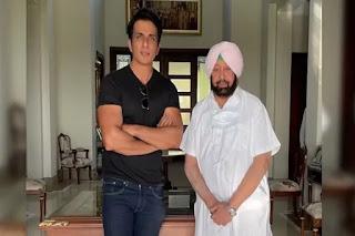 Punjab made Sonu Sood as the state's Covid - 19 Vaccination Ambassador