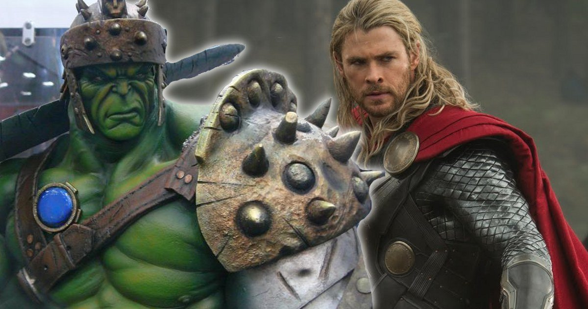 Sdcc 2016 Thor Ragnarok Hulk Gladiator Armor Revealed