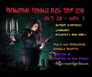 Paranormal Romance Blog Tour 2019 Oct 28 - Nov 1