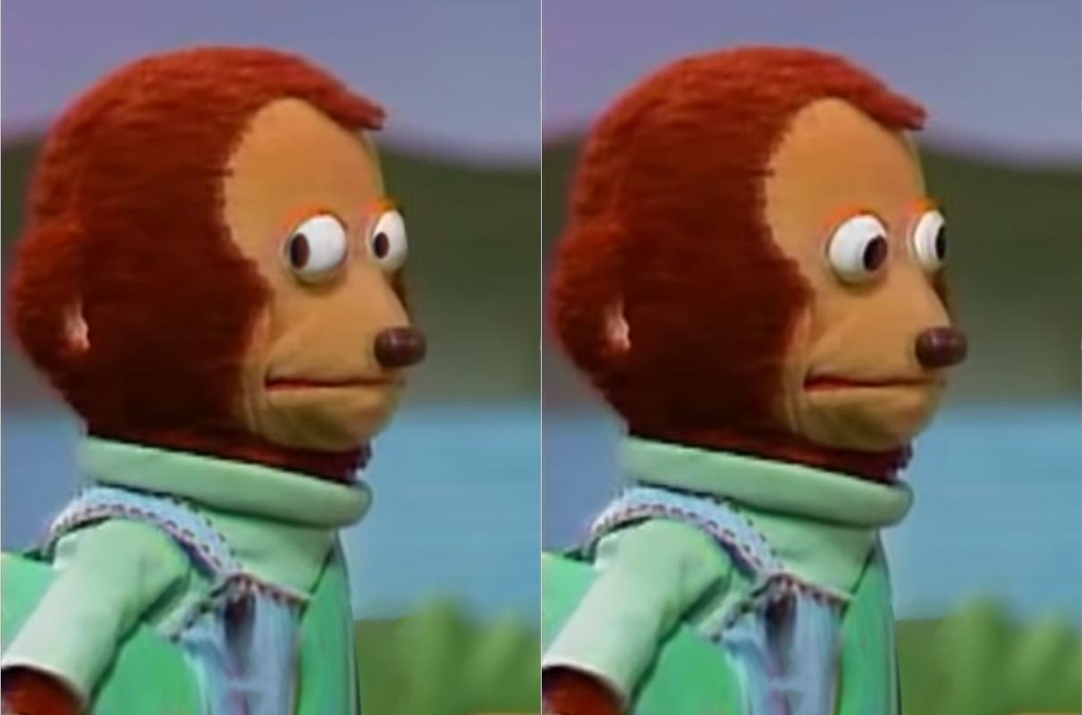 monkey meme template