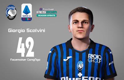 PES 2021 Faces Giorgio Scalvini by CongNgo