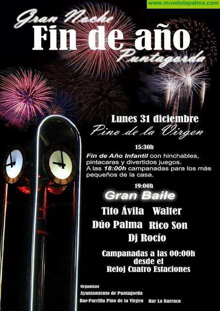 Gran Noche de Fin de Año en Puntagorda