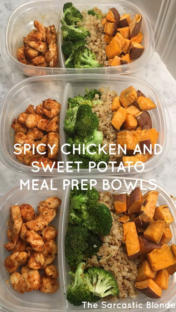 spicy chicken + sweet potato bowls #recipest #dinnerideas #mealideas #goodmealideas #goodmealideasfordinner #food #foodporn #healthy #yummy #instafood #foodie #delicious #dinner #breakfast #dessert #yum #lunch #vegan #cake #eatclean #homemade #diet #healthyfood #cleaneating #foodstagram