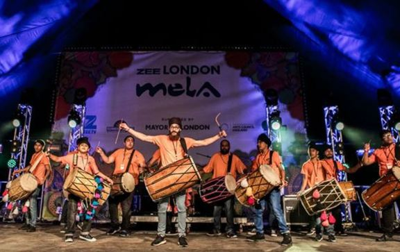 Mela returns to Southall with wall of colour and sound