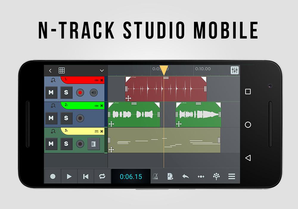 Aplikasi Reccording Lagu Ntrack Studio Mobile