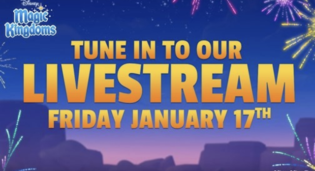 Disney Magic Kingdoms Lunar New Year Livestream 2020