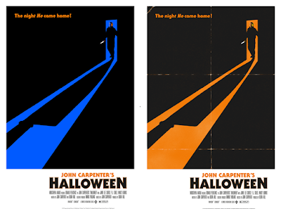 Halloween Movie Poster Screen Print by Andrew Swainson x Bottleneck Gallery