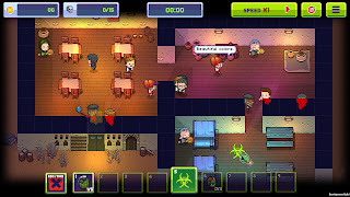 Infectonator 3 - Apocalypse - lovely graphics - beautiful colors