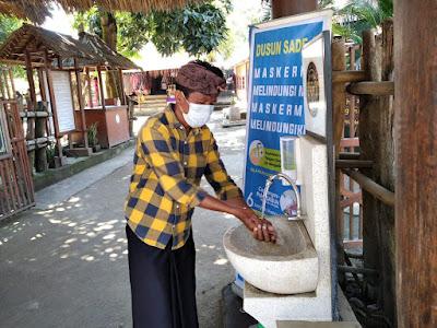 Prokes Pikat Kunjungan Wisata Lombok