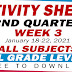 ACTIVITY SHEETS (2nd Quarter: WEEK 3)