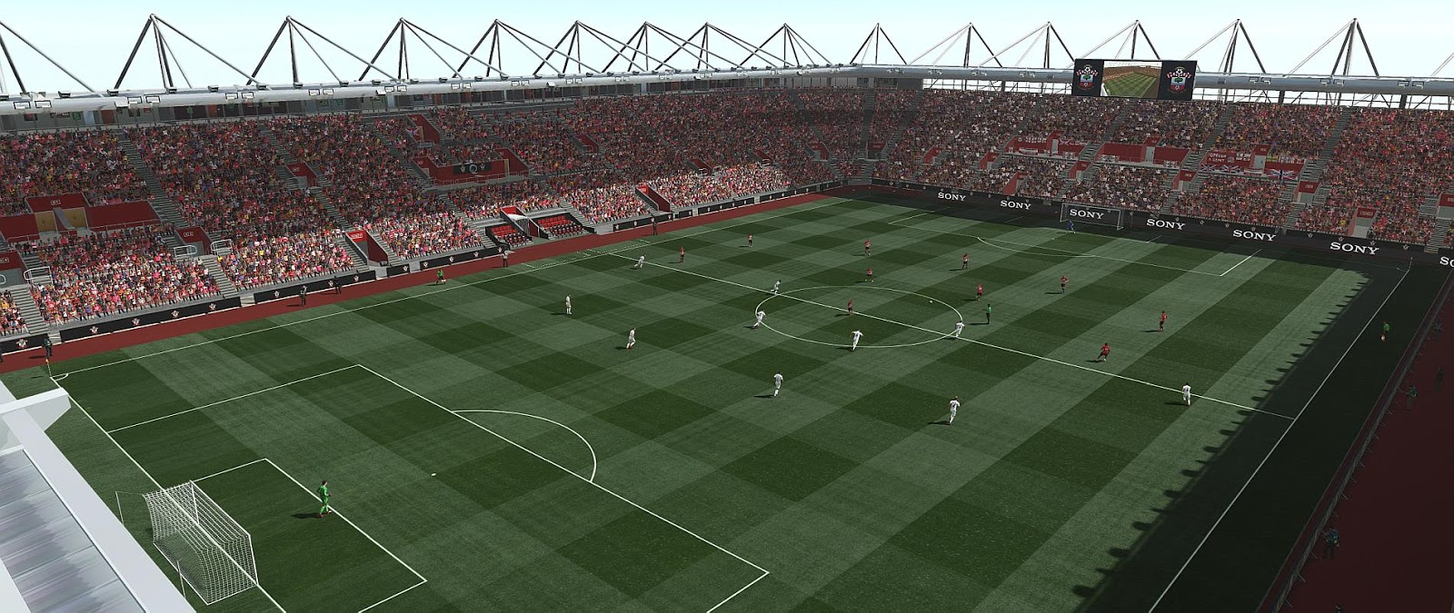 PES 2019 St. Mary's Stadium (Southampton) by Orsest