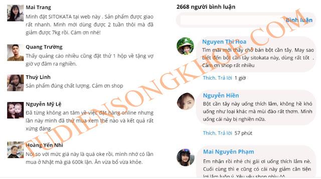 review bot can tay sitokata