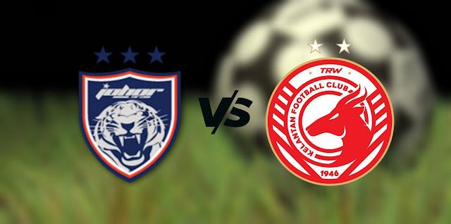 Live Streaming JDT FC vs Kelantan FC 27.9.2021 Piala Malaysia