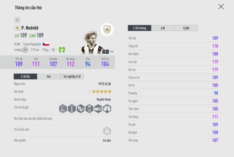FIFA ONLINE 4 | Hé lộ Top icon được người chơi sử dụng nhiều nhất tại sever FO4 Thái Lan