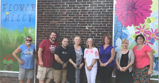 "Franklin Downtown Partnership unveils ""Flower Alley"""