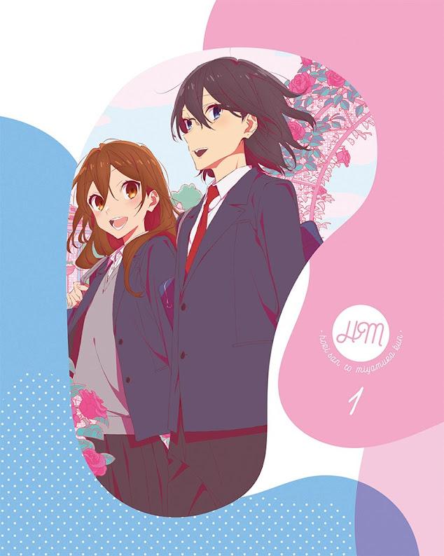 Portada del primer Blu-ray/DVD del anime Horimiya