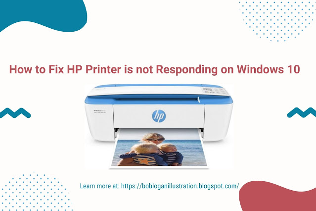 How to Fix HP Printer is not Responding on Windows 10