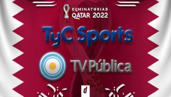 Argentina vs. Venezuela EN VIVO vía TV Pública: transmisión EN DIRECTO por Eliminatorias