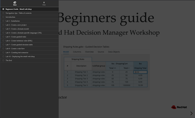 decision manager workshop