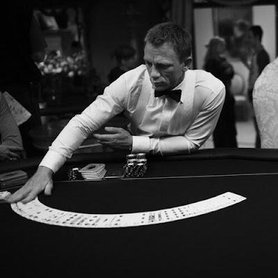 james bond daniel craig casino cards